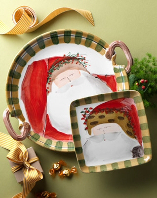 Setting a Christmas Country Table with Italian Designer Dinnerware