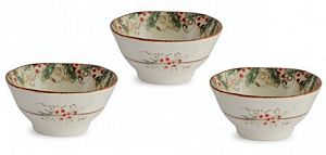Classic Winter / Christmas Dipping Bowls
